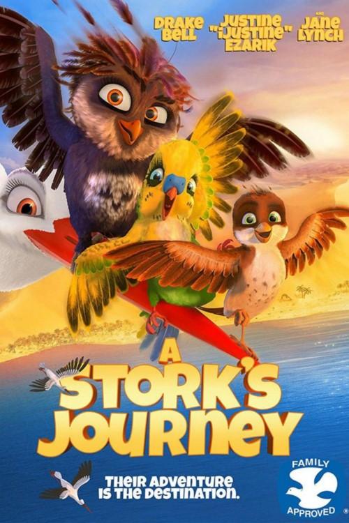 دانلود فیلم A Storks Journey 2017